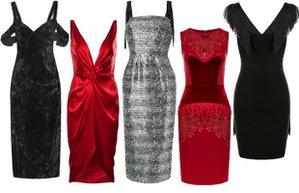 2016 2017 yilbasi gecesi elbise modelleri parti elbiseleri