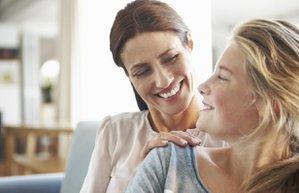 ergen anne cocuk iletisim sevgi mutlu kadin
