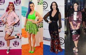 katy perry unlu stili