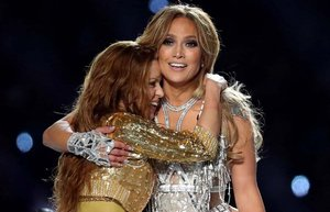 54 super bowl jennifer lopez shakira 1