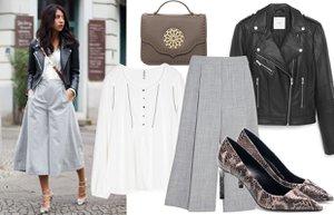 culotte stili moda tarz bol paca pantolon nasil giyilir 1