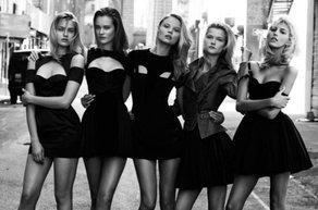 kucuk siyah elbise kadin model