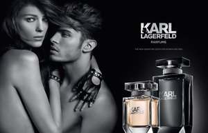 karl lagerfeld parfum tasarim reklam kampanya