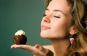 afrodizyak yiyecek cikolata beslenme seksi kadin