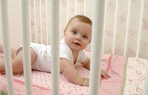 bebek besik yatak karyola uyku ev guvenlik