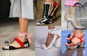 2016 ayakkabi ilkbahar yaz trendleri moda yeni sezon