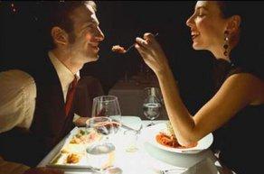 romantik yemek