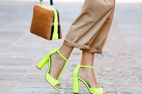 neon ayakkabi canta