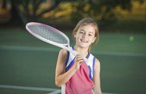 cocuk spor hareket tenis kiz yaz eglence