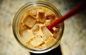 soguk kahve buzlu