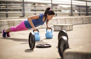 egzersiz spor kettlebell