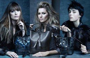 Louis Vuitton kampanya kolaj
