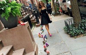 sarah jessica parker ayakkabi koleksiyonu 2014 2015