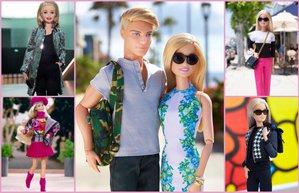 barbie bebekler moda