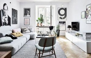 iskandinav stili ev dekorasyonu 5