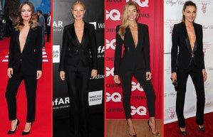 takim elbise unluler moda trend