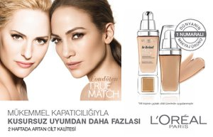 loreal paris true match fondoten