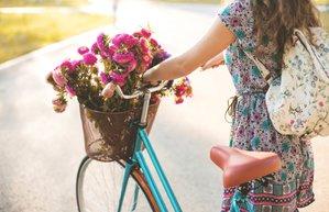 bisiklet mutluluk huzur sakinlik