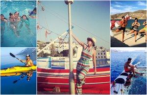 2015 yaz unlulerin tatil fotograflari