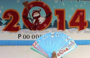 yilbasi 2014 milli piyango bilet