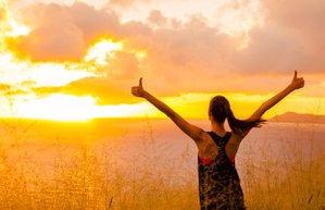 kadin mutlu spor motivasyon ozgurluk