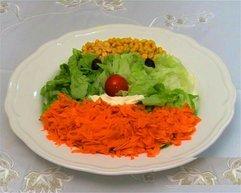 cocuklar icin eglenceli salata