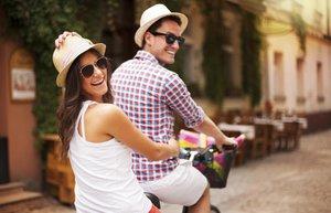 mutlu cift iliski evlilik bisiklet