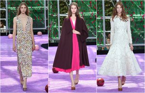 christian dior 2015 sonbahar haute couture defilesi paris moda haftasi