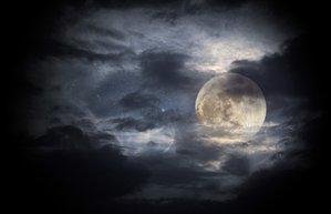 siyah ay astroloji gokyuzu gece