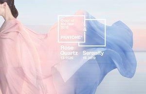 pantone yilin rengi 2016 pembe kuvars dinginlik mavi renk moda
