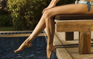 ayak bakim yaz havuz kadin