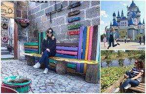 pudra seyahat gezi tatil pudra uygulamasi