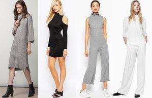 2015 2016 sonbahar kis bogazli bluz kazak elbise moda trend