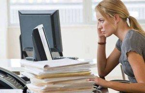 stres is stresi yorgun uzgun kariyer iskadini