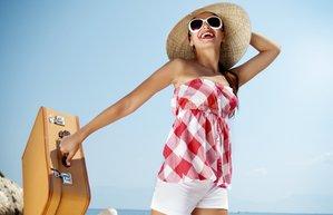 2013 tatil valiz deniz kum mutlu kadin 2013 yaz