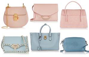pantone 2016 renk trendleri dingin mavi kuvars pembe canta moda