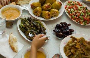 ramazan iftar masa yemek sofra