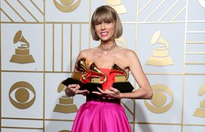 2016 grammy odul toreni taylor swift