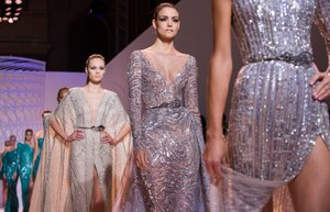 zuhair murad 2014 2015 sonbahar kis koleksiyonu moda paris moda haftasi haute couture
