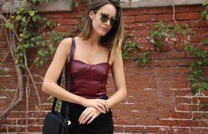 bustiyer moda trend askili straples bluz