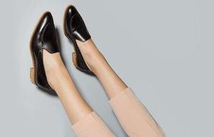 ofiste giyinmek icin babet ayakkabi pudra shop moda