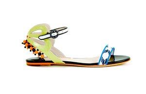 sophia webster sandalet yaz 2013 moda aksesuar
