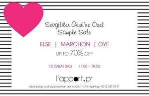 lappart sample sale indirim