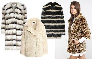 sonbahar kis 2014 2015 yapay kurk mont kaban moda