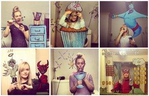 aynadan selfie mirrorsme eglence ayna doodle