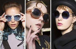 fall winter 2017 2018 sunglasses eyewear trends sunglasses with plastic frames re