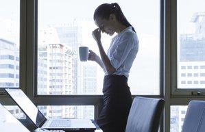 yorgun depresyon ofis kariyer