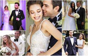 2016 yilinda evlenen unluler unlu ciftlerin dugun fotograflari gelinlik damatlik