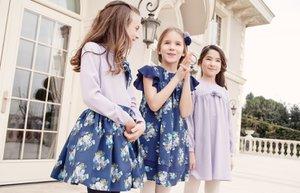 lialea 2 2014 2015 sonbahar kis yeni koleksiyon cicekli elbise lila parisienne wintereque