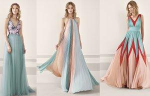 pronovias kokteyl koleksiyonu 2019 uzun elbiseler kapak